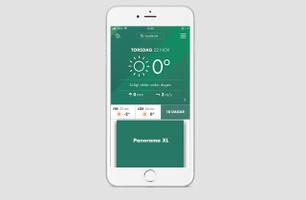 Panorama XL - startsida, Grönt Väder app