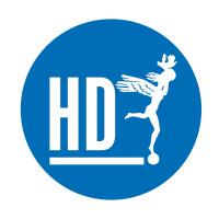 Logotyp för HD
