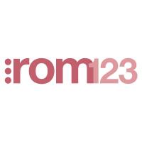 Rom123's logotype
