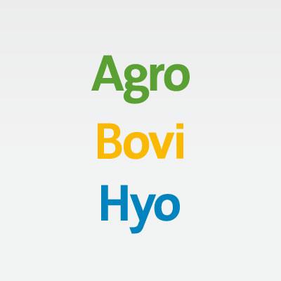AGRO/BOVI/HYO's logotype