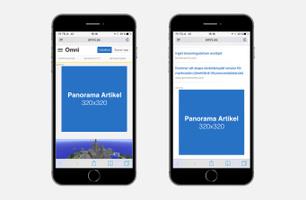 Panorama Artikel - Mobilsajt