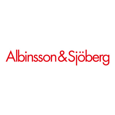 Logotyp för Albinsson & Sjöberg