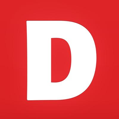 Demokraten's logotype