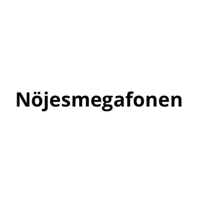 Nöjesmegafonen's logotype