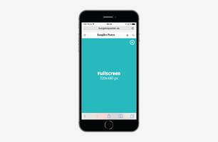 Fullscreen – Mobil