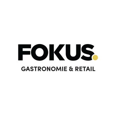 Logotyp för Fokus Gastronomie & Retail