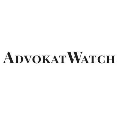Advokatwatch's logo