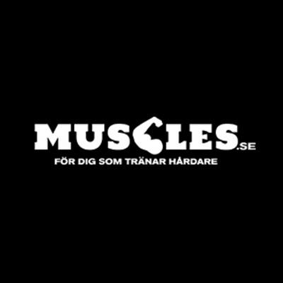 Logotyp för Muscles.se