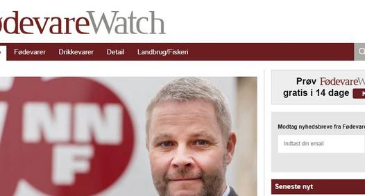 Fødevarewatch's cover image