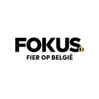 Fokus Fier op Belgie's logotype