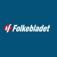 Folkebladet's logotype