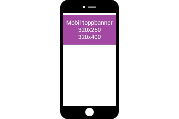 Mobile Toppbanner