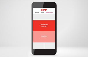Leaderboard - mobil