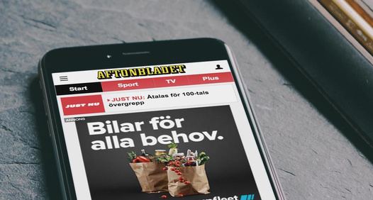 Aftonbladet's cover image