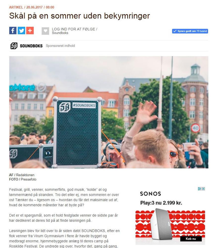 FESTEN MÅ ALDRIG DØ