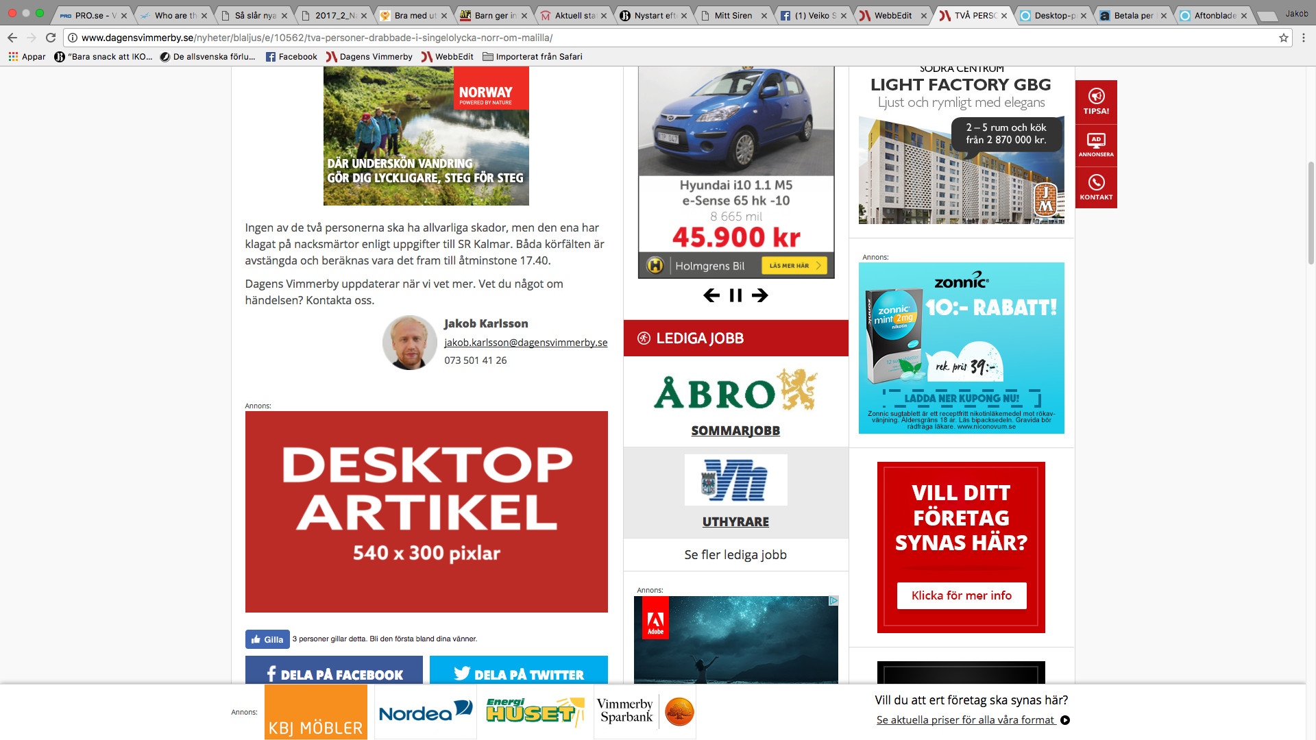 Desktop Artikel