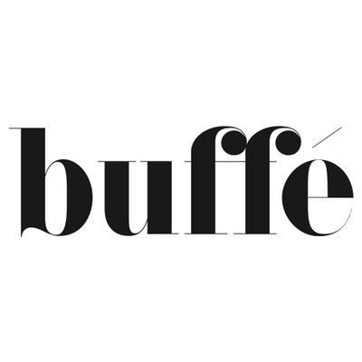 Tidningen Buffé's logotype