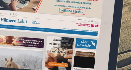 Sydän-Hämeen Lehti's cover image