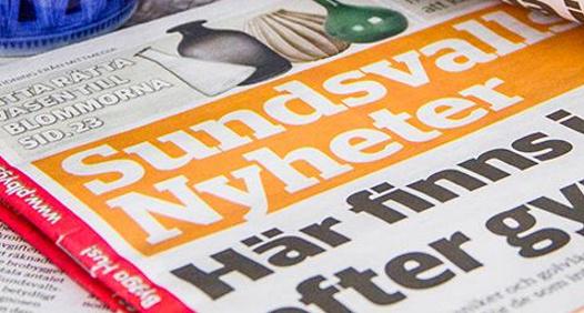 Sundsvalls Nyheter's coverbillede