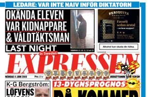 Expressen Stockholm
