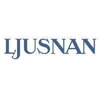 Logotyp för Ljusnan
