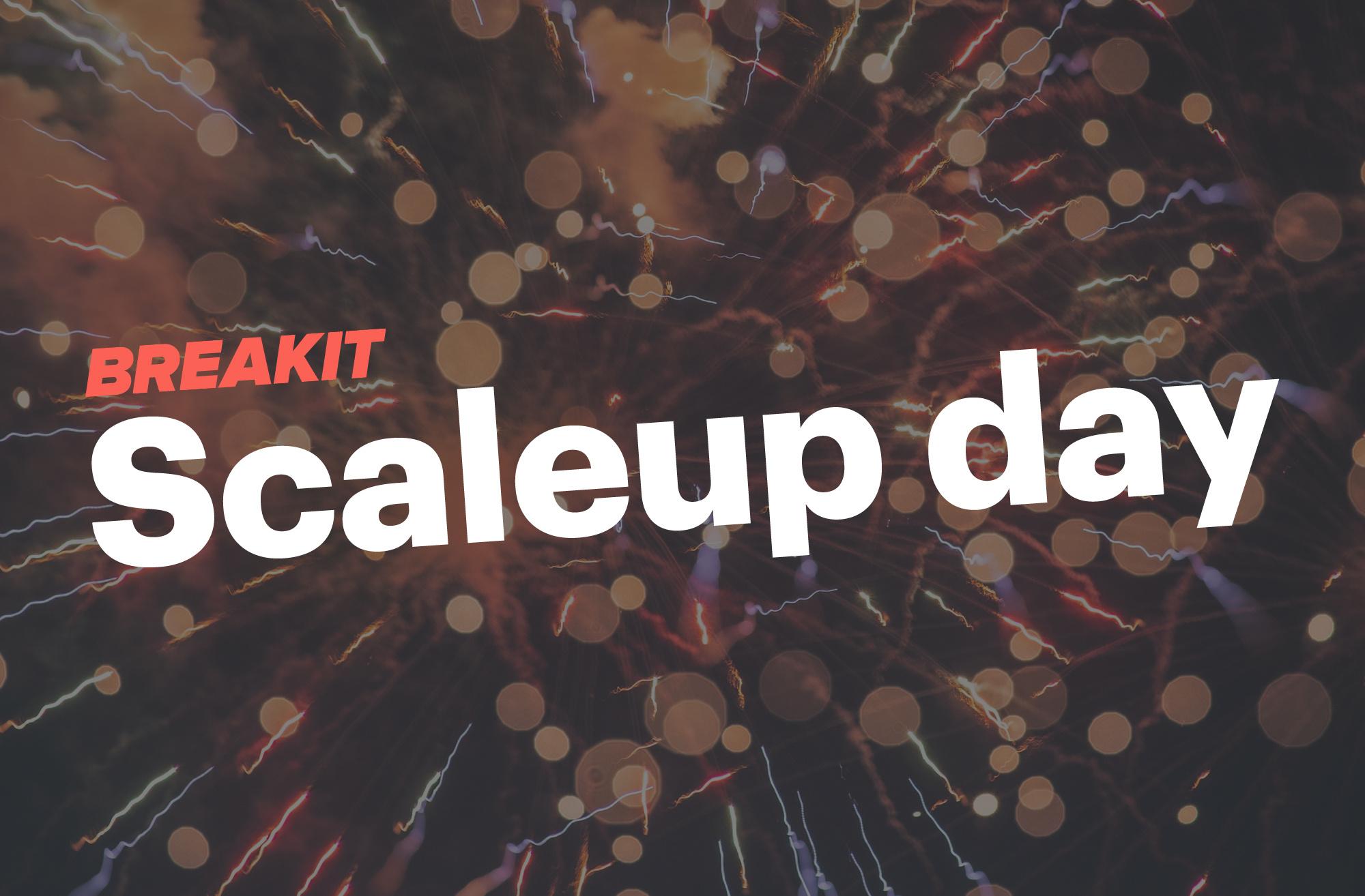 Scaleup Day – sept/okt/nov 2020
