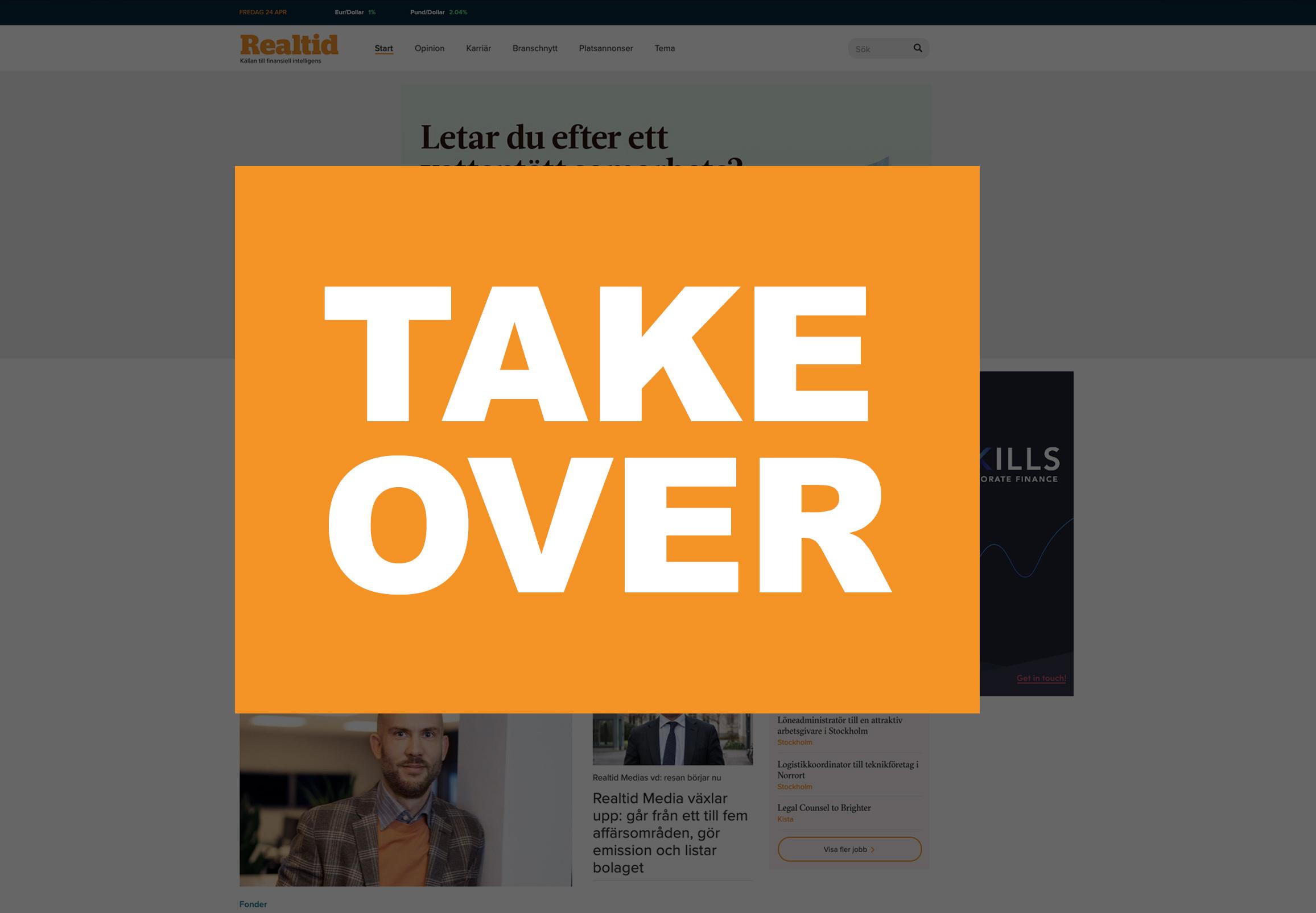 Wallpaper/takeover