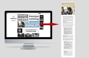 Native Premium på ekstrabladet.dk
