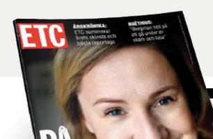 Nyhetsmagasinet ETC - Print RIKS