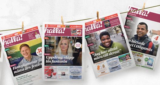 Omslagsbild för Tidningen Hallå