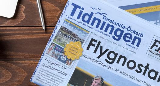 Omslagsbild för Torslanda-Öckerötidningen