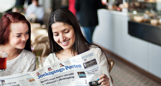 Jönköpings-Posten's coverafbeelding