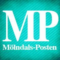 Logotyp för Mölndals-Posten