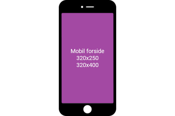 Mobile Frontpage
