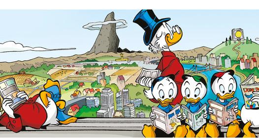 Donald Duck & Cos omslagsbilde